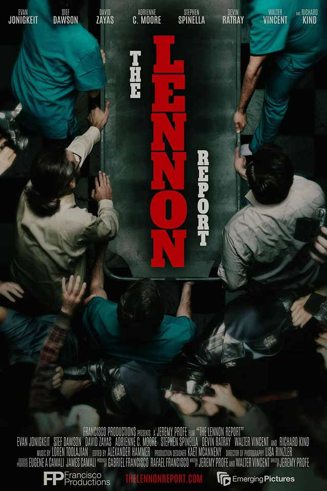 Film poster for The Lennon Report