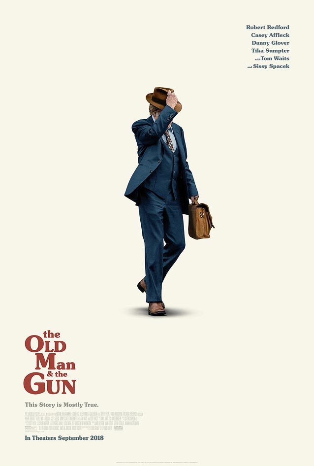 Theatrical one-sheet for The Old Man and the Gun