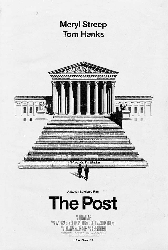 Phantom City Creative's poster for The Post