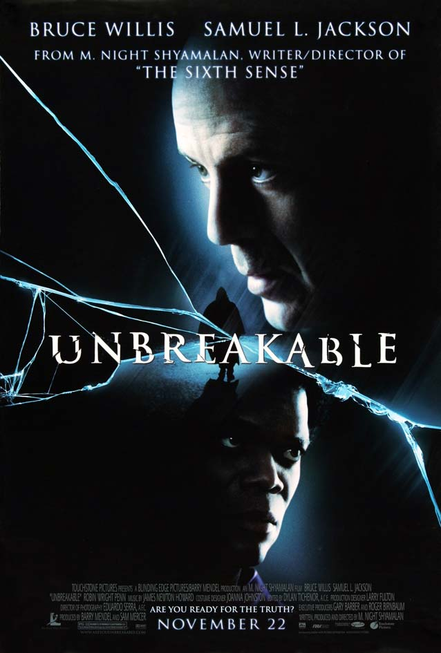 Film poster for Unbreakable