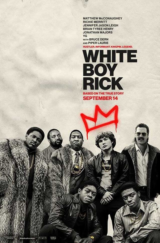 Alternate poster for White Boy Rick
