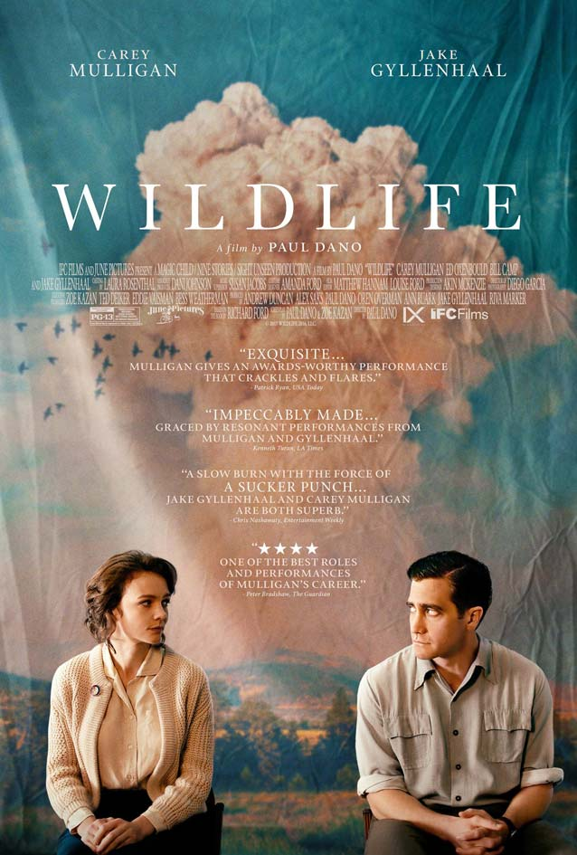 P+A's theatrical one-sheet for Wildlife